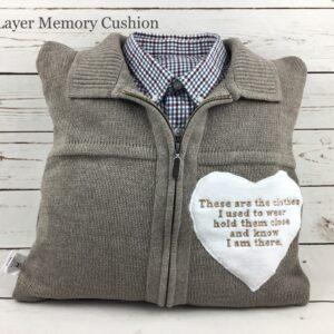 Two Layer Grandad Memory Cushion Keepsake