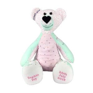 Memory bear Keepsake, teddy Keepsake