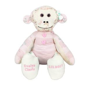 Monkey Keepsake baby clothes