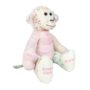 Keepsakes made from baby clothes, baby grows or loved ones clothing