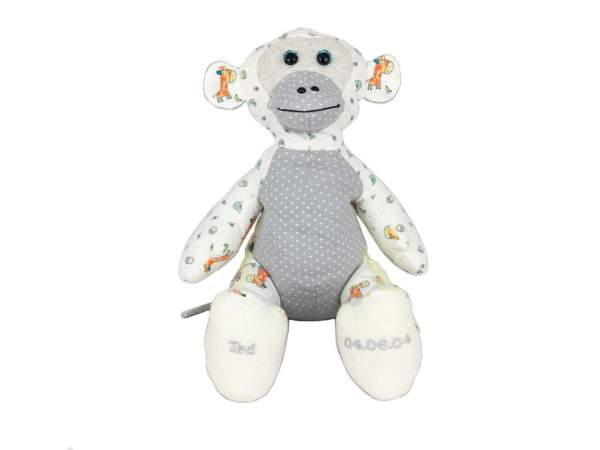 Monkey memory keepsake uk, baby grows memory keepsakes