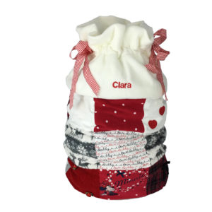 Christmas sack keepsake, memory Xmas sack