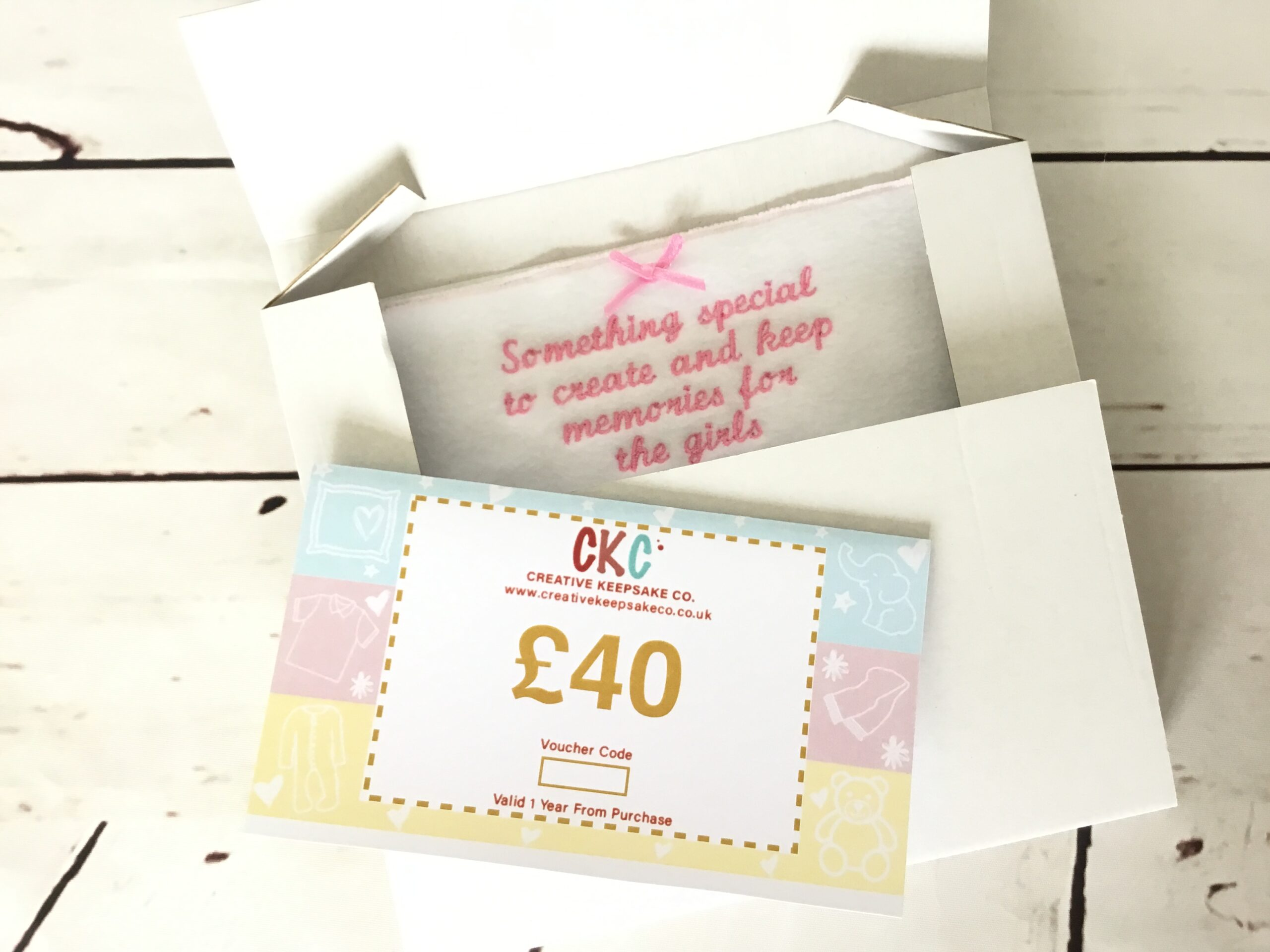 Gift Vouchers - Memory Bears - Keepsakes Made from Baby ...