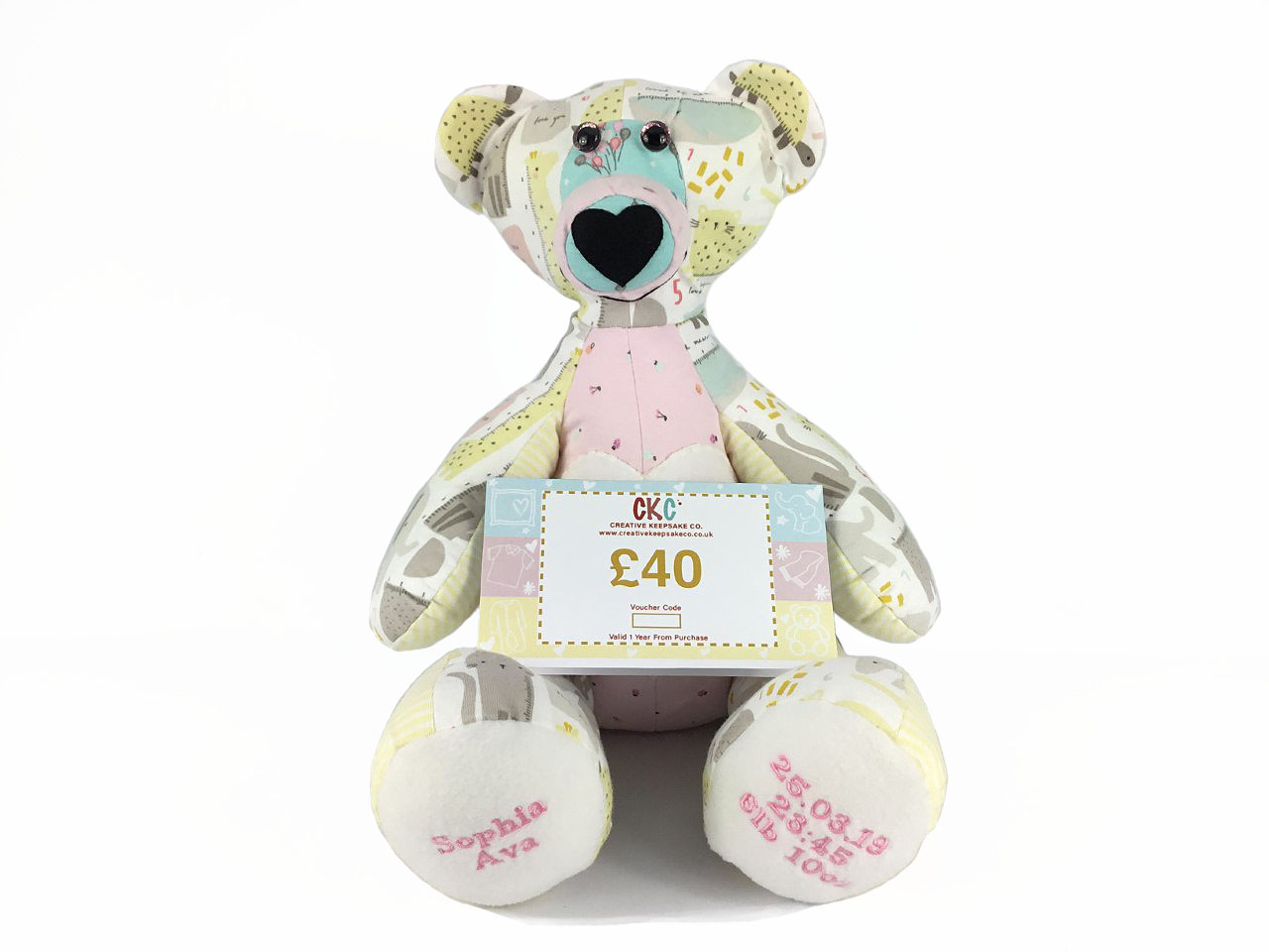 Baby gifts, baby shower gifts, gift vouchers for baby keepsakes