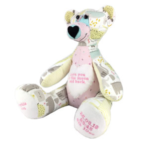 Baby Memory bears, special memory gifts, remembrance bear
