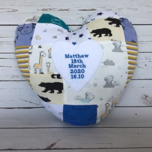 Memory pillow made from clothing, creative keepsakes