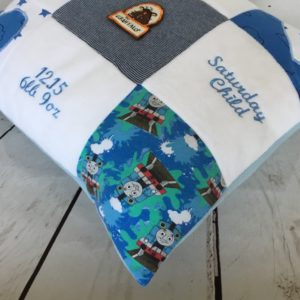 Loved ones clothes made into cushion keepsakes