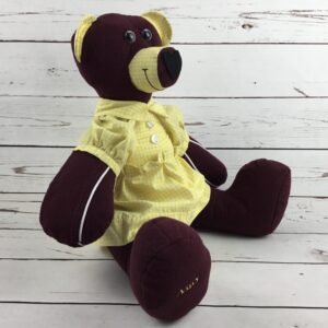 Memory Bears created from school uniforms
